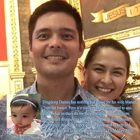 Dingdong Dantes has nothing but praise for his wife Marian ...