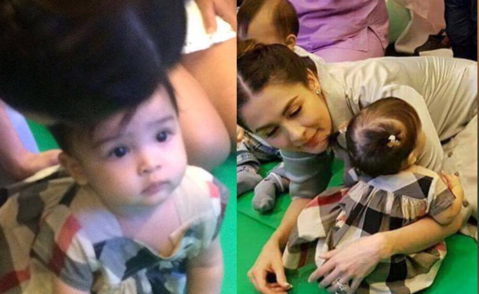 Photos Baby Zia Attended Children S Party Team Dantes