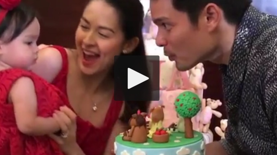 Birthday Cake With Name Zia ~ Video baby zia blowing the birthday cake candle team dantes
