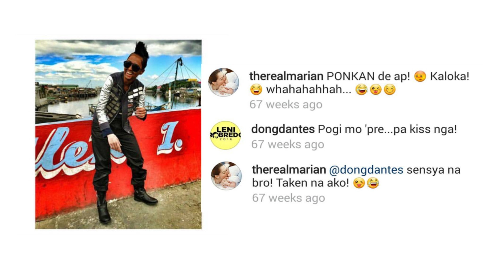 More of DongYan's sweet and funny banters on Instagam!