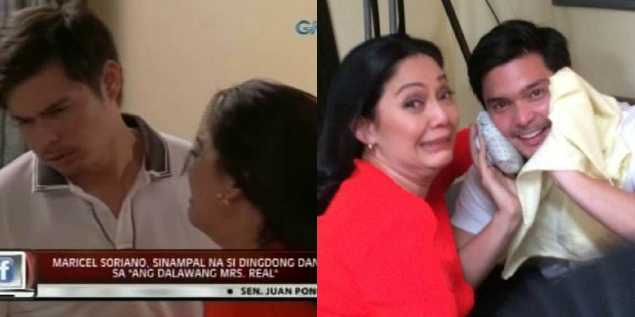 Maricel slap with Dingdong is on Top 10 - Team Dantes