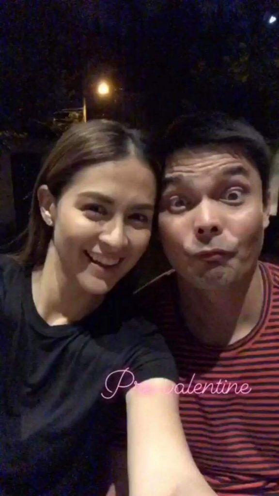 Dingdong And Marian Pre Valentines Get Together With