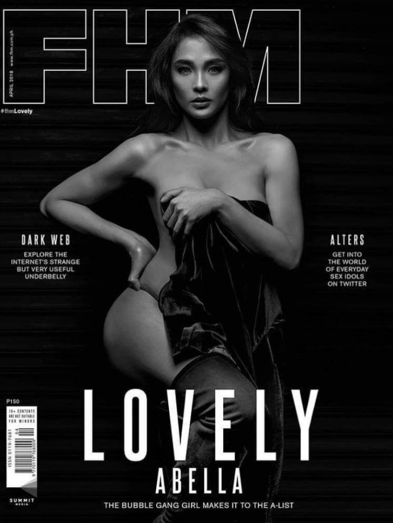 Marian rivera fhm cover accept. The