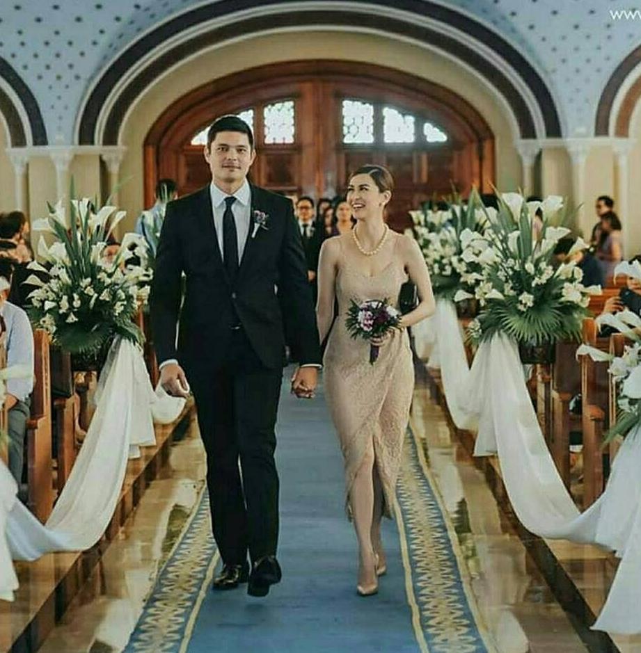 Dingdong and Marian stunning ig church photos - Team Dantes