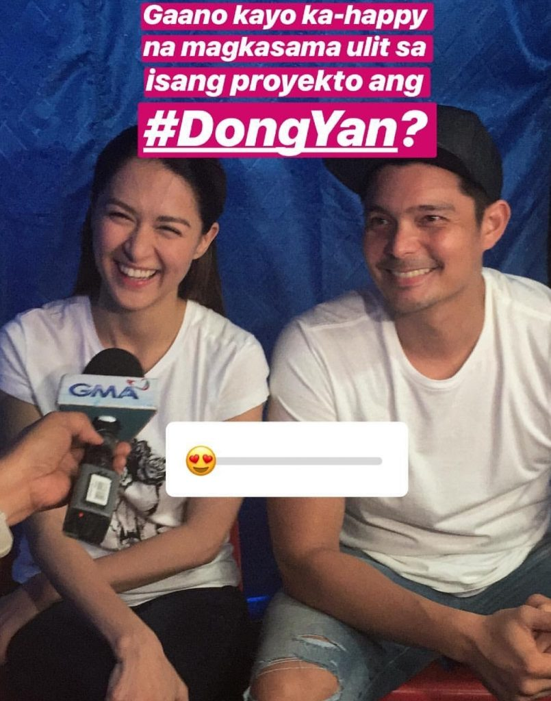 Dingdong and Marian's sweetness behind the scene of ...