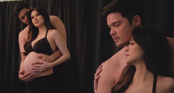 Dingdong Dantes and Marian Rivera: Maternity Shoot - Team ...