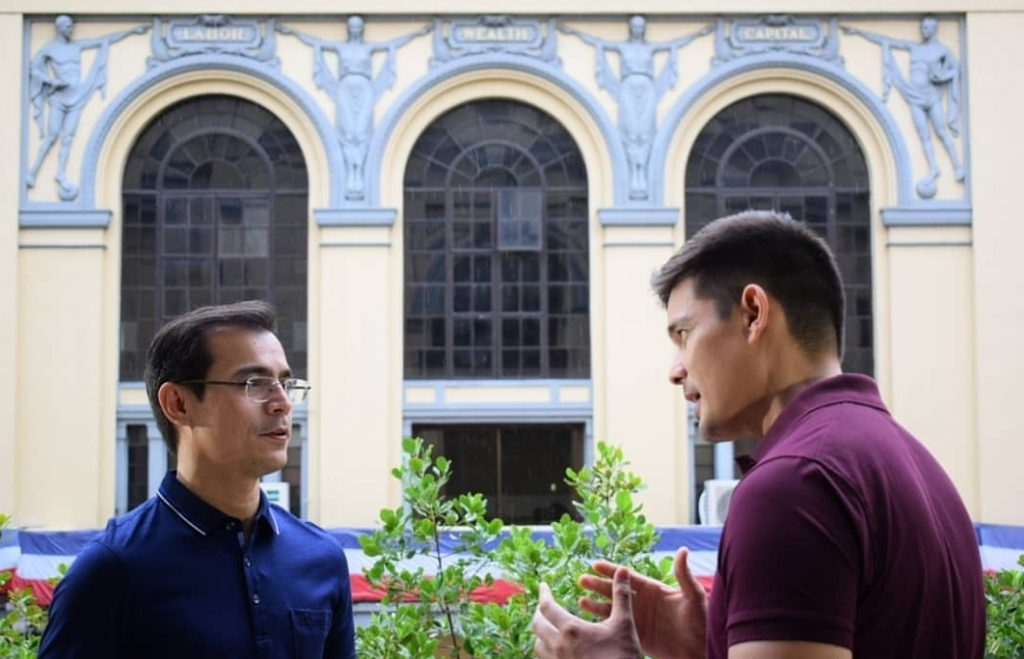 Dingdong Dantes interviewed Mayor Isko Moreno for Amazing ...